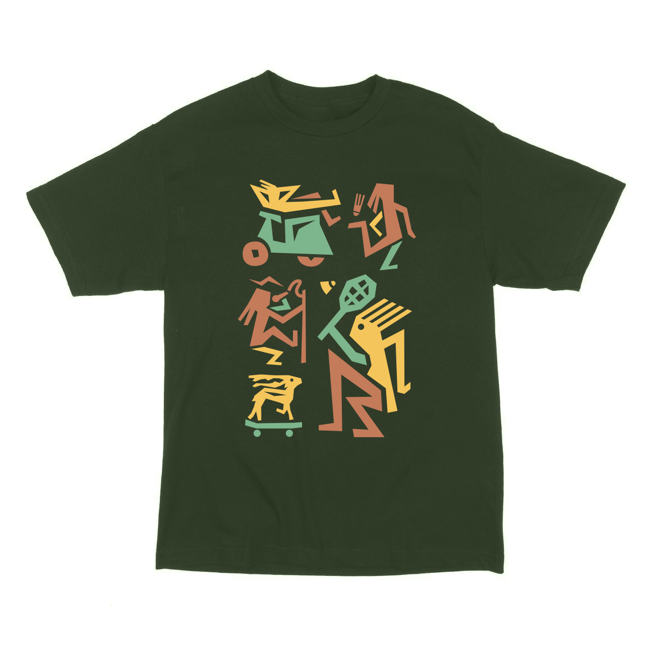 Cyril Barrier Ginkgo T-shirts